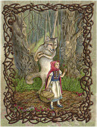 Little Red Riding Hood - the Fool