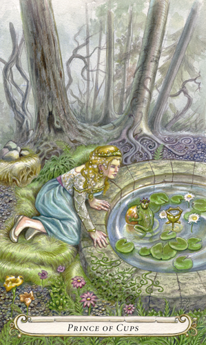 Prince of Cups - The Fairy Tale Tarot by Lisa Hunt