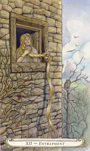 Entrapment - The Fairy Tale Tarot by Lisa Hunt