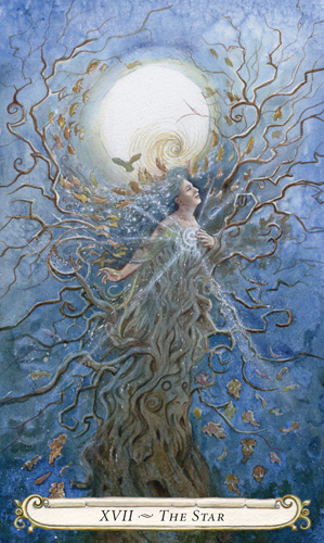 The Star - The Fairy Tale Tarot by Lisa Hunt