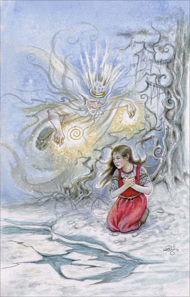 The Frost King by Lisa Hunt - the Fairy Tale Tarot